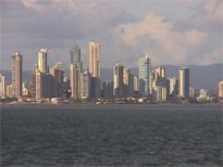 Panama Skyline - Bay of Panama